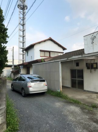 所沢市中富 解体工事を行いました。