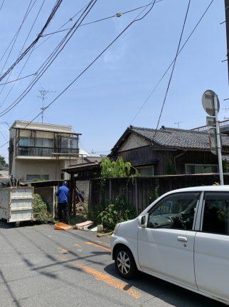東松山市本町の解体工事を行いました。