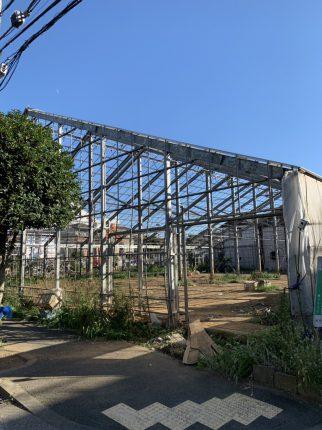 江戸川区本一色の解体工事を行いました。