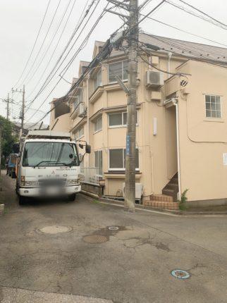 和光市本町の解体工事を行いました。