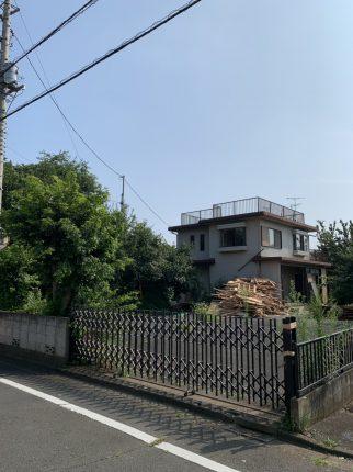 東村山市秋津町の解体工事を行いました。