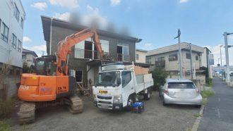 上尾市原市の解体工事を行いました。