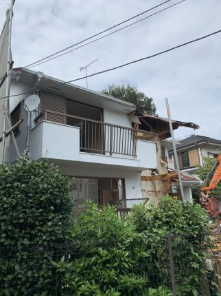 新宿区下落合の解体工事を行いました。