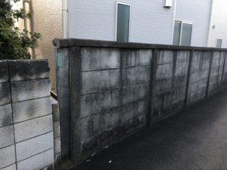 府中市本宿町の万年塀撤去工事を行いました。