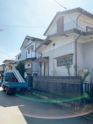 川越市霞ヶ関北の解体工事を行いました。