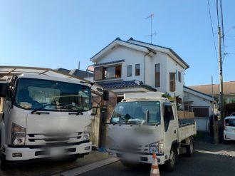 昭島市田中町 解体工事を行いました。