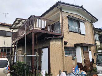 志木市中宗岡 解体工事を行いました。
