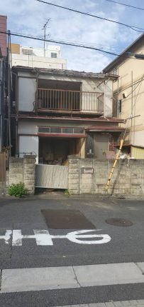 川口市上青木 解体工事を行いました。