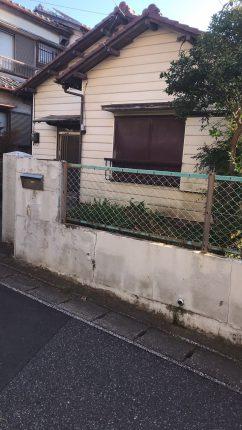 千葉県稲毛区穴川 解体工事を行いました。
