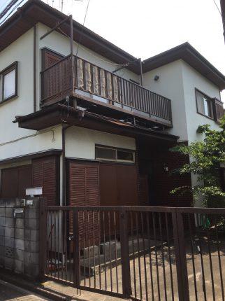 西東京市新町の解体工事を行いました。