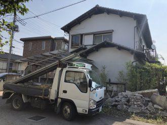 川口市新堀の解体工事を行いました。