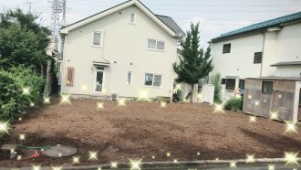 日野市新井の解体工事を行いました。