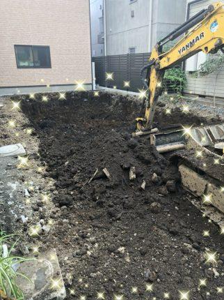 新宿区早稲田鶴巻町の解体工事を行いました。