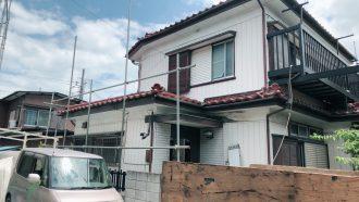 川越市砂新田の解体工事を行いました。