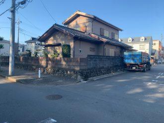 鶴ヶ島市脚折町 解体工事を行いました。