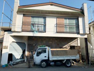 三鷹市牟礼 解体工事を行いました。