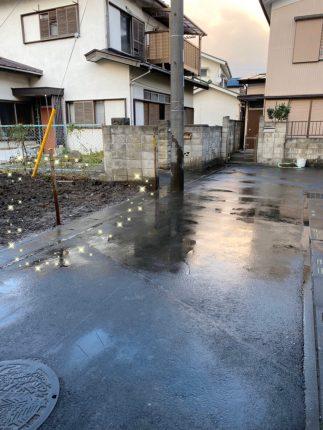 草加市新里町 解体工事を行いました。