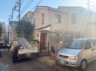 世田谷区岡本 解体工事を行いました。