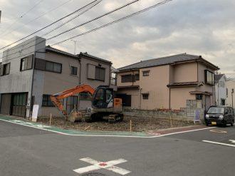 足立区大谷田 地中障害解体工事を行いました。